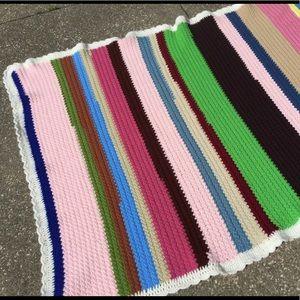 🆕 Handmade Afghan Very Colorful